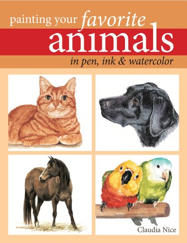 Painting Your Favorite Animals in Pen, Ink & - Watercolor Ink Pen And