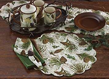 Park Designs Walk In The Woods Table Runner 13'' x 54'' #157-13
