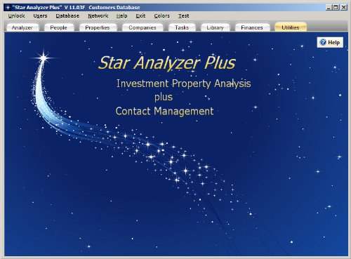 Star Analyzer Plus: Real Estate Investment Analysis plus Contact Management