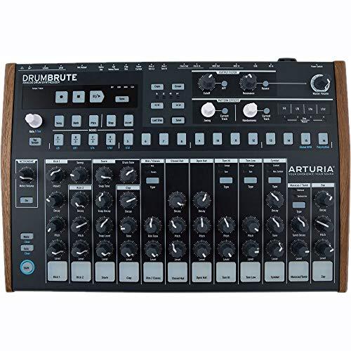 Arturia DrumBrute Analog Drum Machine, Black
