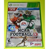 college football 13 - NCAA Football 13 - Xbox 360 [Xbox 360] ...(BONUS EDITION)