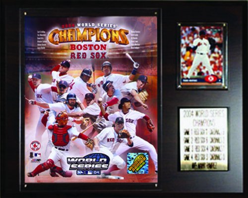 MLB Red Sox 2004 World Series Champions Plaque -