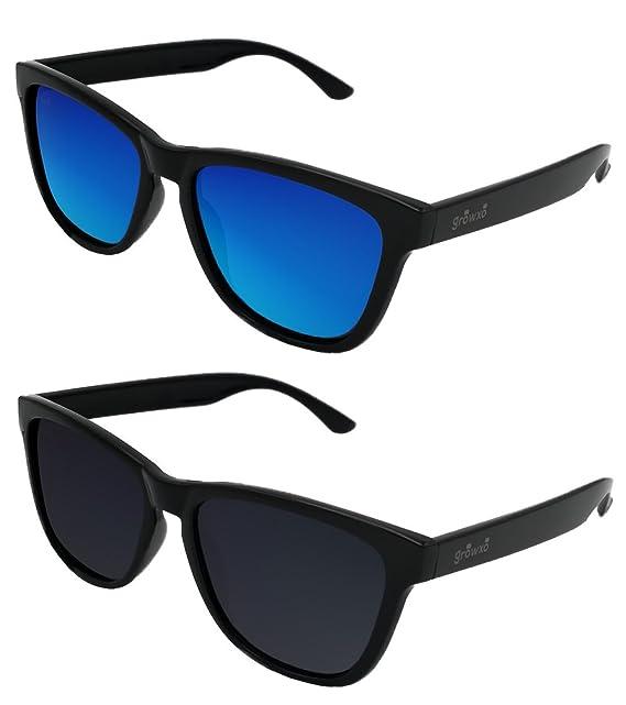 fefcc10b66 Pack 2 Gafas de Sol Polarizadas Hombre Mujer - Moda Sport y Fashion -  Lentes 1.1