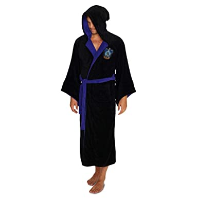 ac2d3e7b49 Image Unavailable. Official Harry Potter Ravenclaw Wizard Fleece Dressing  Gown Bathrobe ...