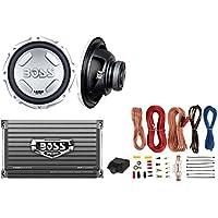 New BOSS AUDIO CX122 12 1400W Car Power Subwoofer Sub + Mono Amplifier+ Amp Kit