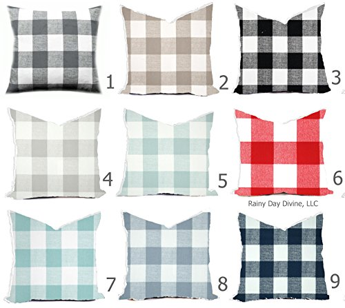 Pillow Cover Buffalo Check