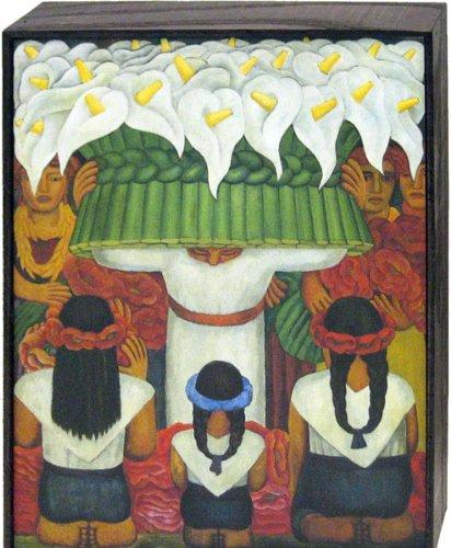 Diego Rivera - Flower Festival: Feast Of Santa Anita, 1931 Art Block