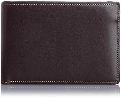 THINly EVERWIN ORIGINAL Leather Bifold Wallet 21548 Brown by THINly