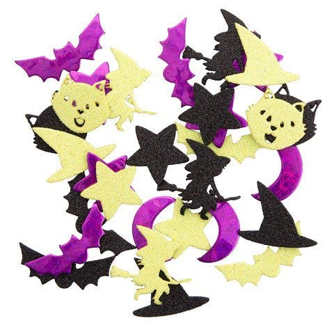 (Foamies Halloween Foam Stickers: Bewitched, 30Piece)