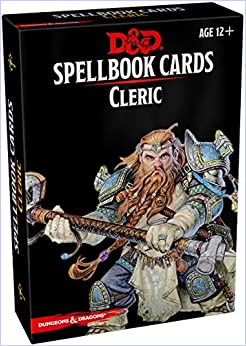 Written by Wizards RPG Team: Spellbook Cards: Cleric (Dungeons ...