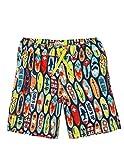 Hatley Boys' Little Board Shorts, Surfboards, 6 Years