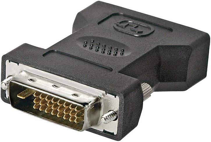 Wentronic MMK ADAP 24+5 DVI-I F > 24+1 DVI-D M - Adaptador DVI-D/DVI-I, Negro