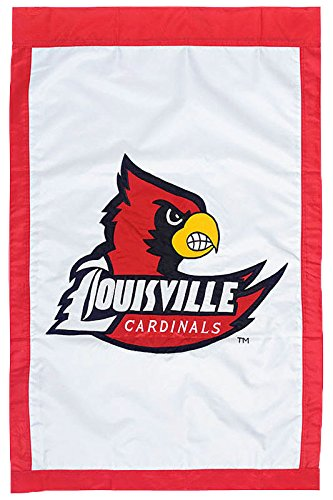 Louisville - 28'' x 44'' Double Sided Appliqued NCAA Banner
