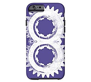 8th Gear iPhone 6 Dark slate blue Tough Phone Case - Design By SHUSHUTOU