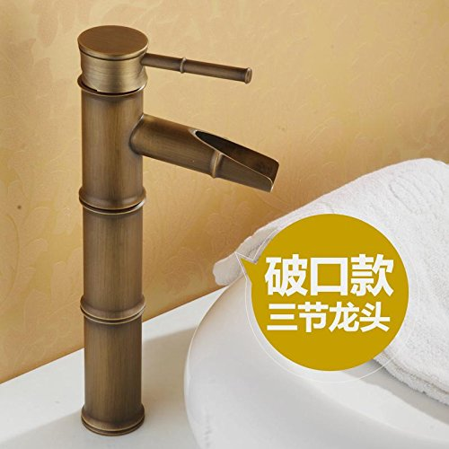 AWXJX Single Hole Single Handle Blender Hot And Cold Bathroom Washbasin Copper Sink Taps by AWXJX Sink faucet
