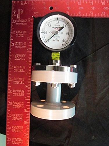 Kurita Water 75Mm 0 0 6Mpa Pressure Gauge Diaphragm  Migishita 75Mm 0 0 6Mpa  A 10K15a 75X0 6Mpa