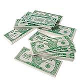 HMK - Play Money $100 Dollar Bill (1,000 pcs), 6 x 2 1/2 inches (4-Pack)