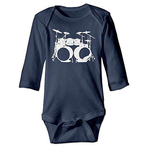 - Drumms Drummer Snare Hi Hat Drumset2 Long Sleeves Newborn Baby Special Baby Climbing Clothes Size Key