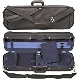 Bobelock Hill Style Lite 6002 4/4 Violin Case with Blue Velvet Interior
