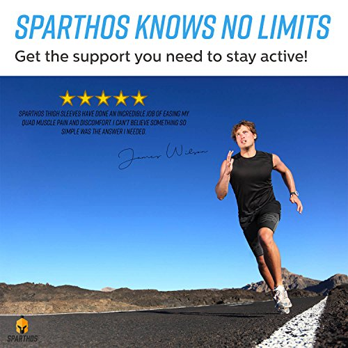 Sparthos-Thigh-Compression-Sleeves-Pair--Quad-and-Hamstring-Support--Upper-Leg-Sleeves-for-Men-and-Women--Made-from-Innovative-Breathable-Elastic-Blend--Anti-Slip