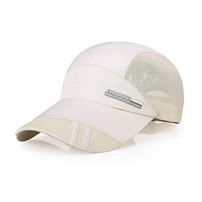 Gorra De Deportes Al Aire Libre Gorra De Visera Sombrero De Béisbol  Protección Especial Estilo Solar 23b8f0dbc34