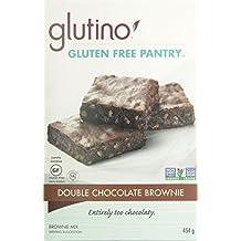 Glutino Gluten Free Double Chocolate Brownie Mix, 454 gm