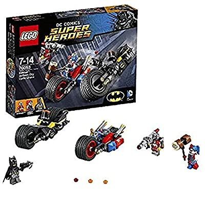 Lego Batman Gc Cycl Chse Size 1ct Lego Batman Gotham City Cycle Chase 76053: Toys & Games