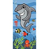 Shark Childs Beach / Swim Towel by Kidz Swimmers