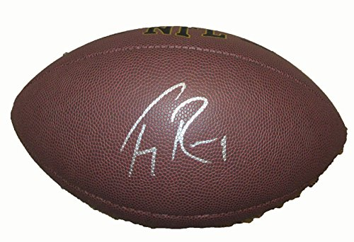 - Tony Romo Signed Wilson NFL Football W/PROOF, Picture of Tony Signing For Us, Dallas Cowboys, Pro Bowl, Eastern Illinois University