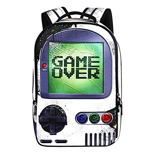Backpack School Bag Book Bag for Boys Girls (Game-2019)
