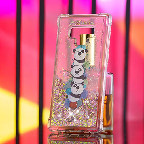 inShang Mate9 léger Samsung pour Portable Galaxy et Rigide TPU Note Fait 9 Anti matériel Coque Panda Le dans Mince étui de Housse téléphone Slip Coque Ultra étui rr86Swdq