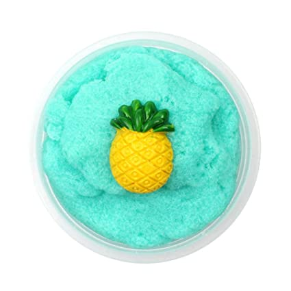 Learning & Education Toys & Hobbies United Pineapple Mud Fluffy Floam Slime Stress Relief Toy Ananas Scented Sludge Toys