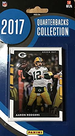 Amazon.com: 2017 Donruss NFL Football Quarterbacks ...
