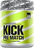 MMUSA Kick Pre-Match Diet Supplement Powder, Raspberry, 700 Gram