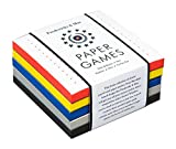Fredericks & Mae Paper Games: Dots & Boxes - Hex - Hedron - Nim - Tic-Tac-Toe