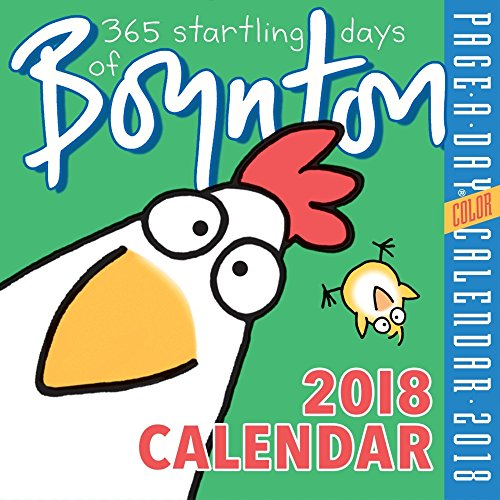 365 Startling Days of Boynton 2018 Color Page-A-Day Calendar