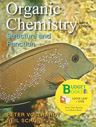 organic chemistry loose leaf study guide solutions manual rh amazon com Organic Chemistry Vollhardt 6th Edition Peter Vollhardt