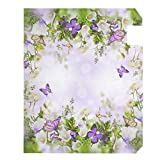 Vdsrup Spring Garden Butterfly Mailbox Cover Fancy