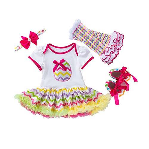 Fairy Baby 4Pcs Newborn Baby Girl Easter Outfit