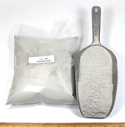 500 Grit Aluminum Oxide: 2lbs