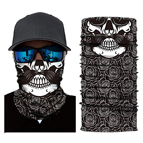 Sunshinehomely Cool Headkerchief, Clown Cycling Motorcycle Neck Tube Ski Scarf Face Mask Balaclava Halloween Party -