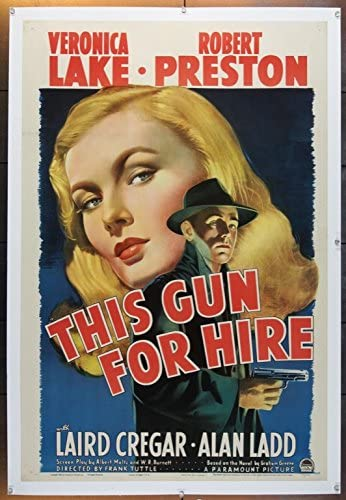 This Gun For Hire (1942) Original Movie Poster at Amazon's Entertainment  Collectibles Store