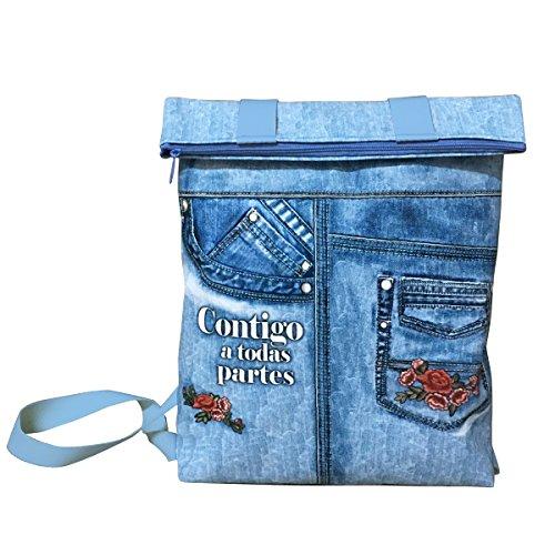 Artemodel Denim Padded Backpack Grd Ref: 0626