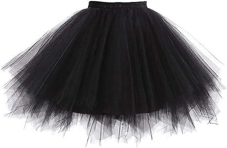 Reyoust Niñas Adultos Mini Falda de Ballet Skirt Princesas Tutú de ...