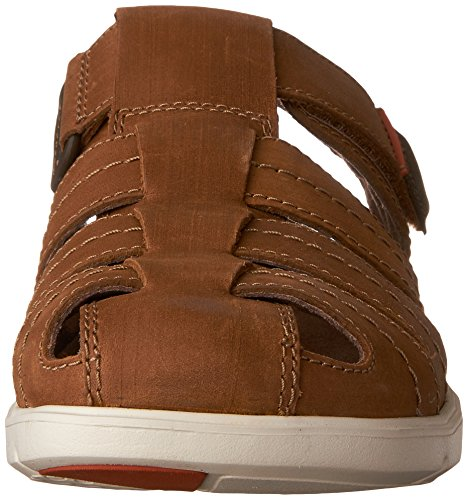 Sandals Unwilmore Bay Clarks Men's Tan NuBuck CRxqR75wt