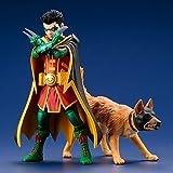 Kotobukiya DC Universe Robin & Bat-Hound Artfx+ SV222 Collectible Figure