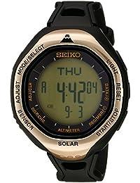 Men's SBEB009 Prospex Digital Display Japanese Quartz Black Watch