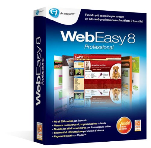 WebEasy 8 Professional Old Version