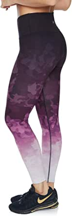 Rockwear Activewear Women's Very Berry Fl Ombre Print Tight from Size 4-18 for Full Length High Bottoms Leggings + Yoga Pants+ Yoga Tights