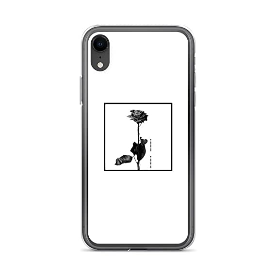 purchase cheap c6bca 599d8 Amazon.com: iPhone XR Pure Clear Case Cases Cover Blackbear: Cell ...